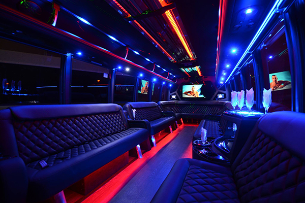 40 Person Party Bus Rental Washington DC