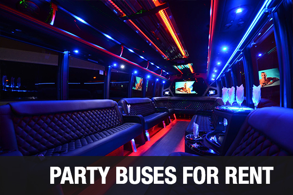 Party Buses For Rent Washington DC